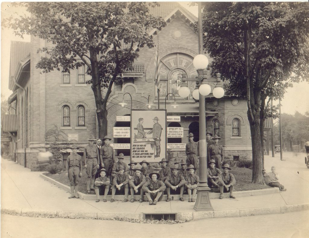 WWI soldiers at FUMC sm