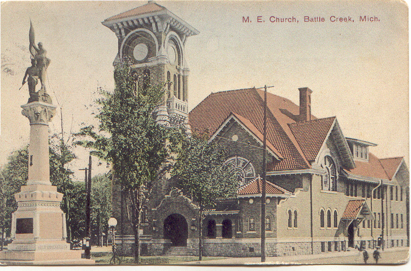 Photo of our church from a 1910 postcard